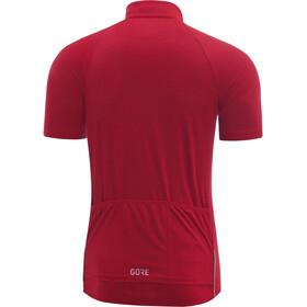 GORE WEAR C3 maglietta a maniche corte Uomo rosso